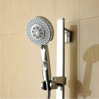 Bathroom accessories ABS plastic handheld big shower head shower nozzle