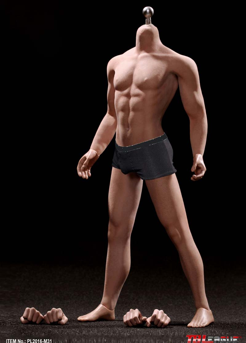 TBLeague 1//6 Tony Stark Iron Man M31 Seamless Male Muscular Figure Set PHICEN