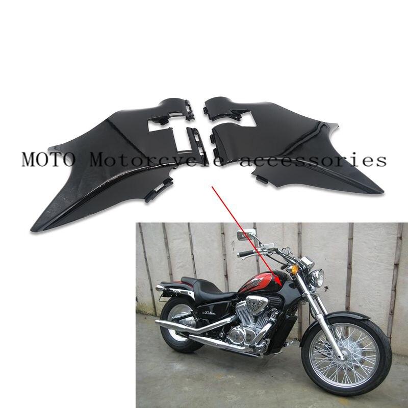 Обтекатель боковой шеи отделка крышки для Honda Стид 400 VLX400 VLX600 мотоцикл обтекатель боковой отделкой горловины Крышка