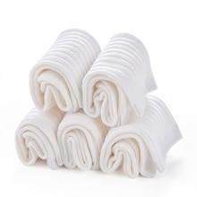 YAYOYAHA White School Socks for Boys Girls Student Sport Cotton Plain Pure White Box Gift Uniform Socks White Socks School Girls