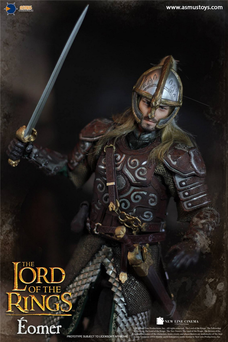 """Asmus Toys LOTR011 1//6 The Lord of the Rings Eomer 12/"""" Action Figure Shoes Model"""