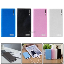 Dual USB Power Bank 6x 18650 External Backup Battery Charger Box Case For Phone Z17 Drop ship