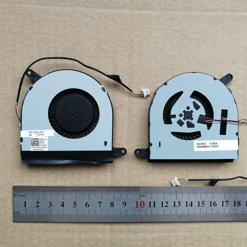 Nuevo ventilador de cpu para DELL Inspiron 17 7000 7778 7779 035WWH