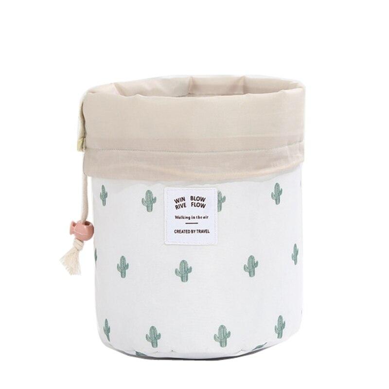 XYLOBHDG Dropship 2019 New Round Women Cosmetic Bag Travel Makeup Case  Cosmetic Organizer Bag Female  Toiletry Kit Tidy Storage