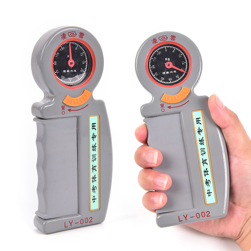 Quality 0-130Kg Hand Evaluation Dynamometer Grip Strength Meter Force Measurement Tool