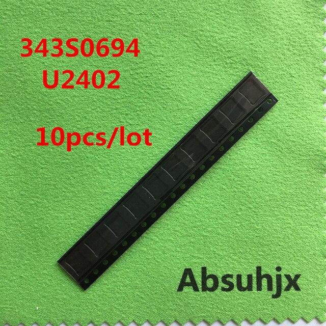 Absuhjx 10 chiếc 343S0694 Màn Hình Điều Khiển Cảm Ứng IC cho iPhone 6 và 6 Plus 6 P U2402 Bộ Điều Khiển Bộ số hóa chip IC Bộ Phận Thay Thế