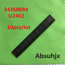 Absuhjx 10pcs 343S0694 Screen Touch Control ic for iPhone 6 & 6 Plus 6P U2402 Controller digitizer chip ic Replacement Parts