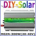 300 Вт сетевой инвертор  30 в панель/60 ячеек  20-40VDC Чистая синусоида микро инвертор  90-260VAC полное напряжение выход MPPT функция