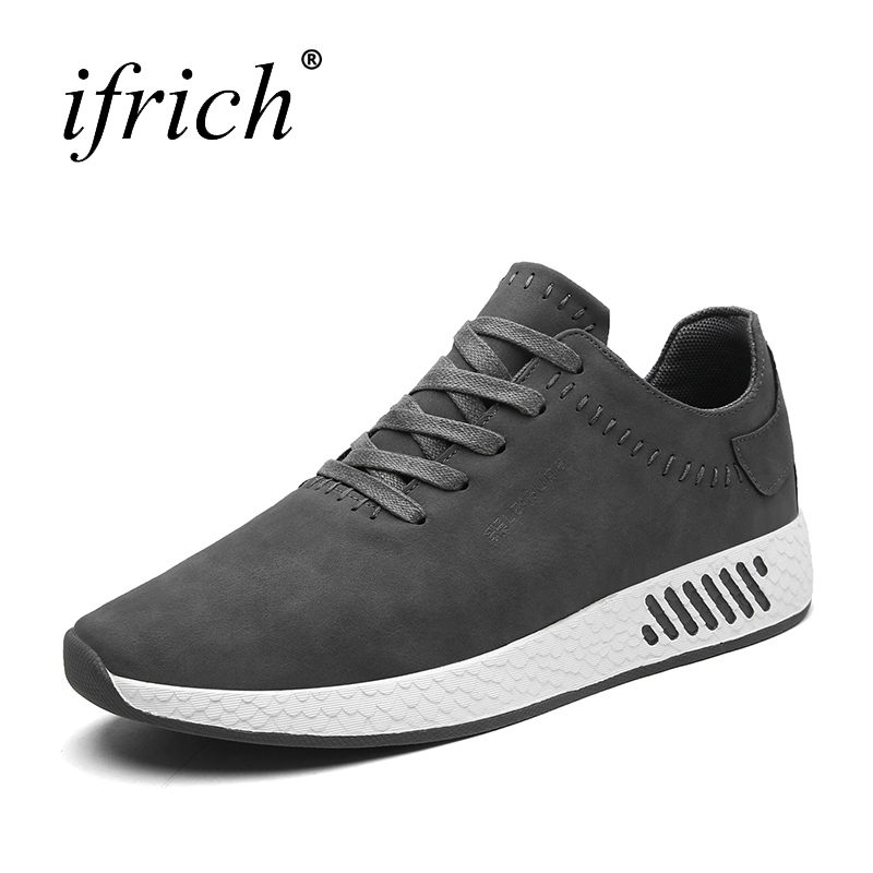 Spring Summer Man Walking Outdoor Sport Shoes Lace Up Black Gym Shoes Men Luxury Brands  ...