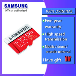 SAMSUNG EVO Plus Micro sd-karte 64 GB 32 GB 16 GB 256 GB Class10 MicroSDSDXC UHS-I 80 MB/S SDHC TF karte 64 GB 128 GB + SD Adapter 256g
