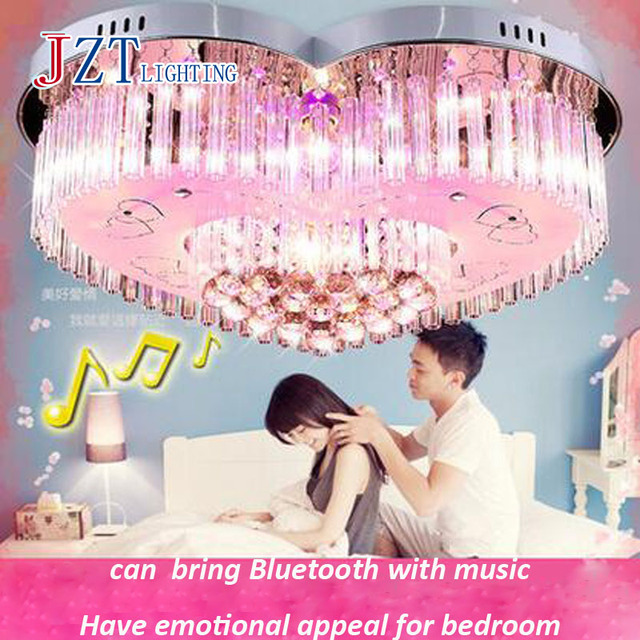 Z Bluetooth Music Bedroom Light Minimalist Led Ceiling Light Living ...