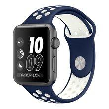 V-MORO Мягкие Силиконовые Спортивные Группы Для Apple Watch Серии 2 Замена Ремешок для Apple iWatch Nike Спортивные Группы