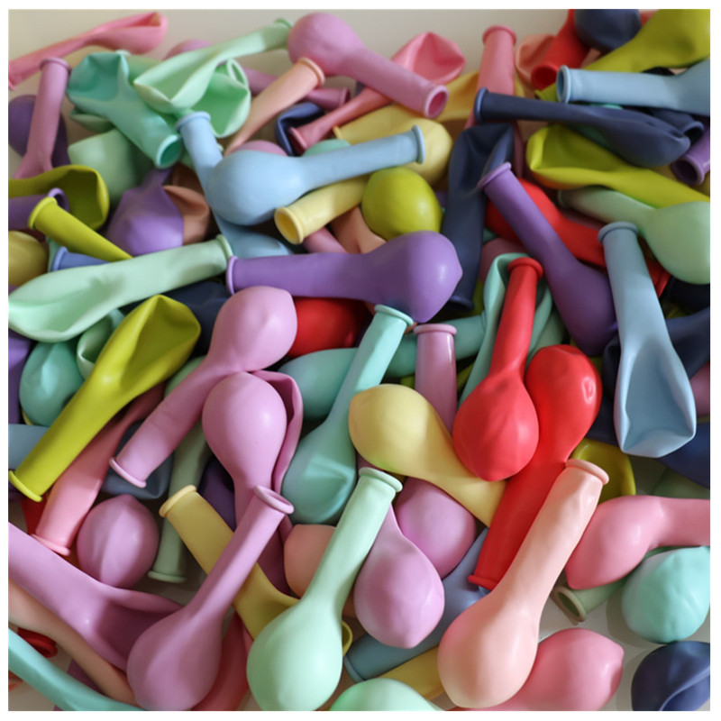 Image 4 - Macaron Color Latex Balloons 30pcs 5 inch Festival Birthday Party Decorative Balloons Sweet Colorful Party Hanging Decoration-in Ballons & Accessories from Home & Garden