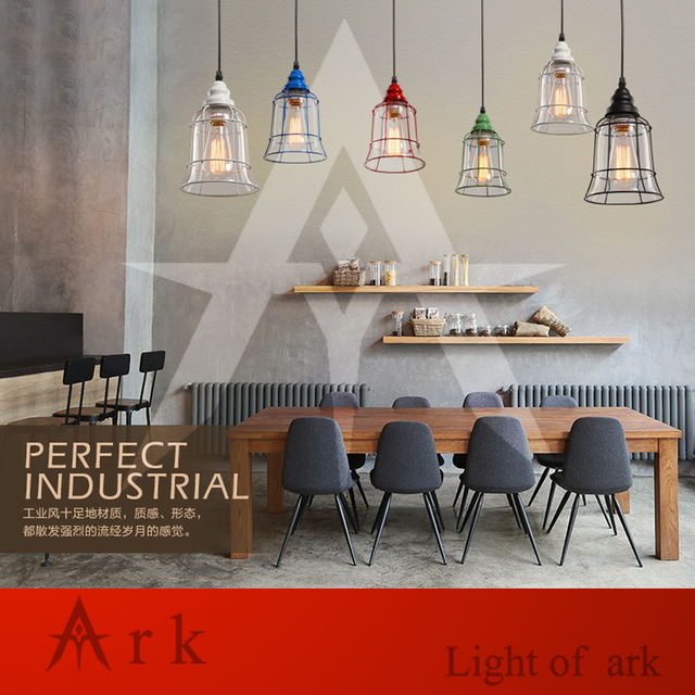Ark light rustic glass pendant antique american style light brief ark light rustic glass pendant antique american style light brief vintage reminisced classical iron glass bell mozeypictures Choice Image