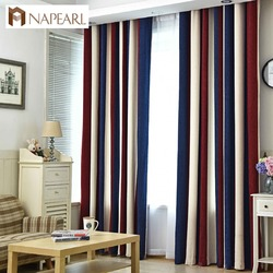 NAPEARL 半日陰質感織りカーテン暗く窓カーテンパネル既製リビングルームの高品質単一のパネル