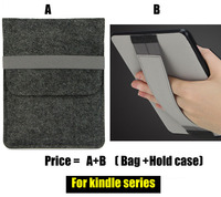 W440 Wool Felt Tablet Sleeves E Book Covers Cases For New Kindle Paperwhite 1 2 3