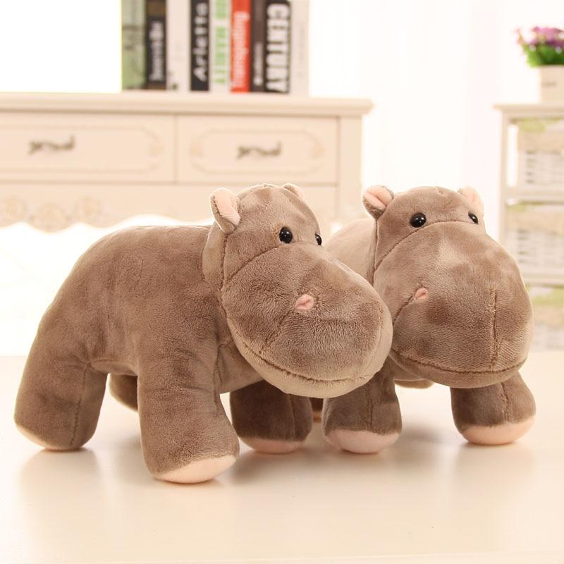 Kawaii Hippo Plush Toy Baby Sleeping Appease Hippopotamus Stuffed Dolls,Wedding Gift Kids Toys Children Birthday Brinquedos Gift