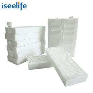 Image 1 - 10 sztuk filtr HEPA dla ISEELIFE PRO3S odkurzacz Robot do domowych części do odkurzaczy automatycznych
