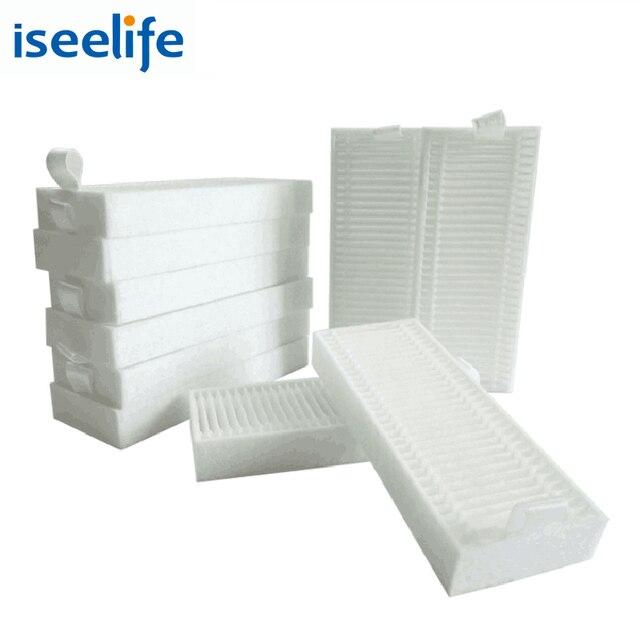10 sztuk filtr HEPA dla ISEELIFE PRO3S odkurzacz Robot do domowych części do odkurzaczy automatycznych