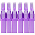 ITATOO 11FT Plastic Disposable Purple Tattoo Tips 100Pcs Tube Supplies For Tattoo Grip Sterilizer Temporary Machines Supply Tips