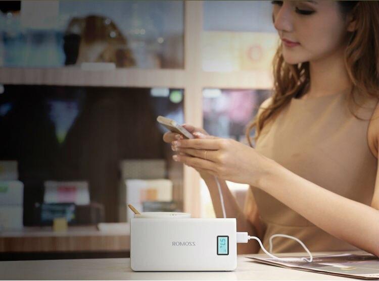 Original Romoss Sense 6 Plus Dual USB 20000mAh 18650 Power Bank 7