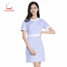 Slimming doctor suit experiment student nurse pharmacy beauty salon short sleeve work clothes