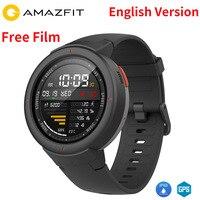 В наличии английский Xiaomi Huami AMAZFIT Грани 3 Смарт часы gps + ГЛОНАСС IP68 Водонепроницаемый мульти спорта Smartwatch отвечать на звонки