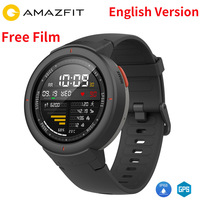 In Stock English Xiaomi Huami AMAZFIT Verge 3 Smart Watch GPS+Glonass IP68 Waterproof Multi Sports Smartwatch Answer Calls