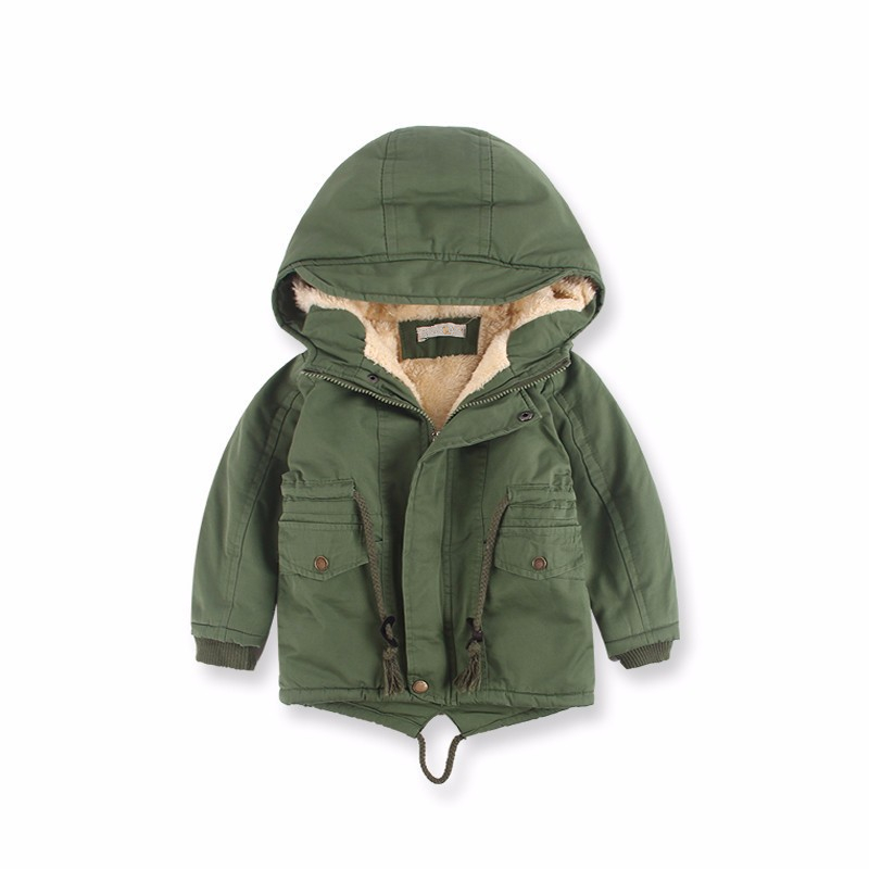 8f791e8316c4 Baby Brand Boys Wool Jacket Children Clothes Winter Warm Coat ...