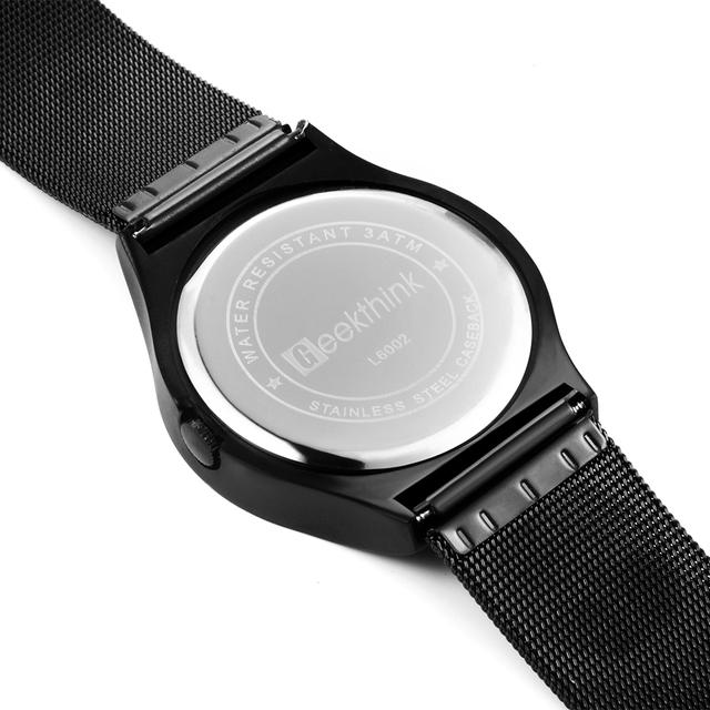 Reloj unisex creativo