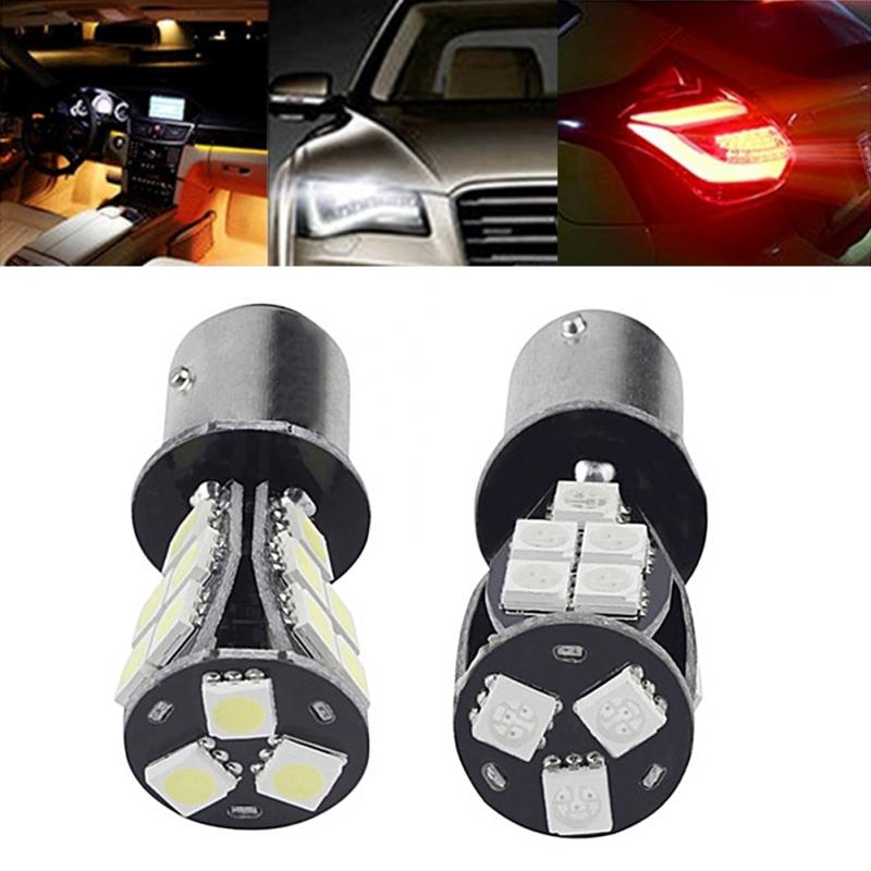 1157 / BAY15D 5050 SMD LED 12V 5W 18Chips Error Free Brake Tail Car LED Light Bulb 11571210 68w 1157 4 5w 250lm 68 smd 3528 led white light car light dc 12v 2 pcs