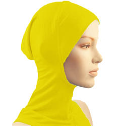 Под шарф, шляпа, шапка Bone головной убор хиджаб исламский головной убор Шея крышка мусульманин TY66