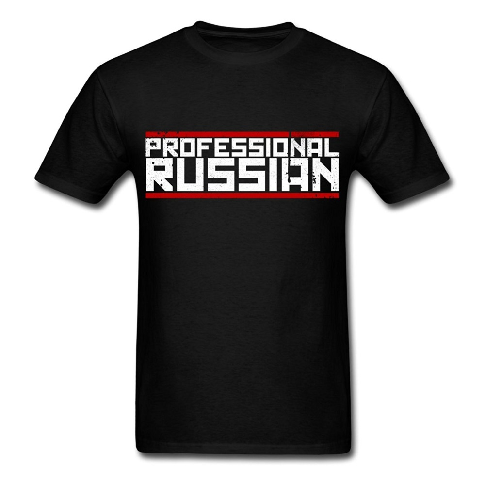 Tee Shirt Hipster Brand Clothing T Shirt FPS Russia Professional Russian Mens T-Shirt Hot Sale Casual Clothing