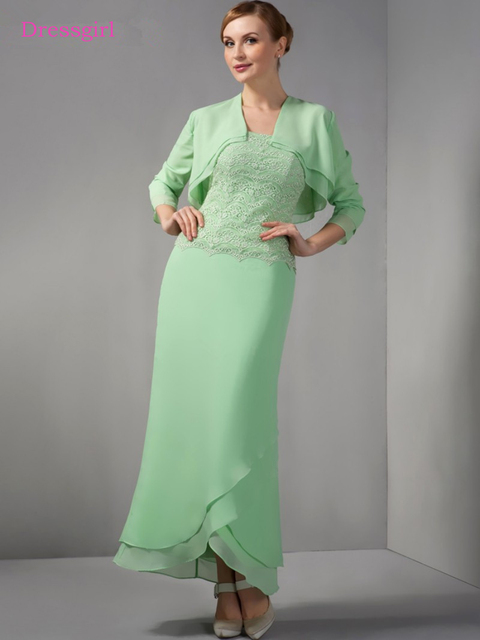 Mint Green 2019 Mother Of The Bride Dresses Sheath Sweetheart ...