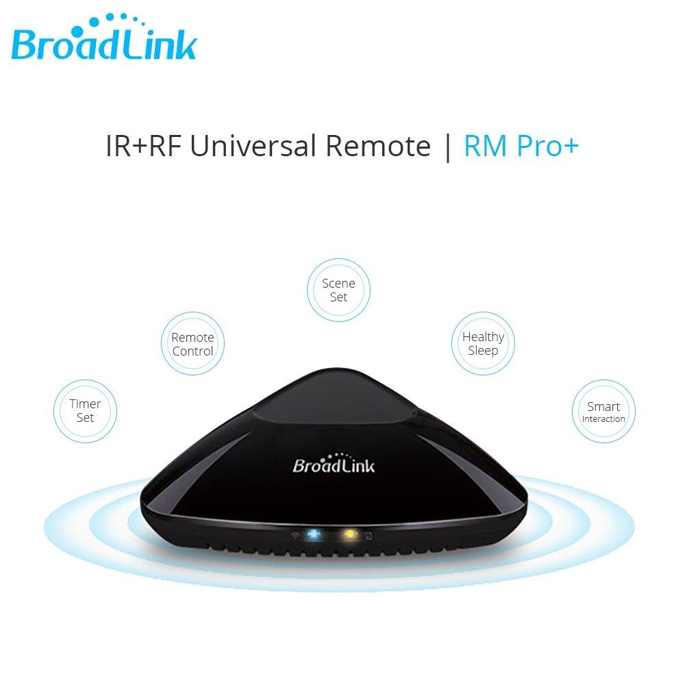 Broadlink Rm Pro + Intelligent IR RF Smart Remote Control Sp3 Contros Wireless Wifi Timer վարդակ տան ավտոմատացման համար Google Home