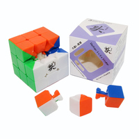 Magic Cube Professional 57mm Dayan 5 Zhanchi Magic Speed Cube 3x3x3 Puzzle Smooth Classical Stickers Toys
