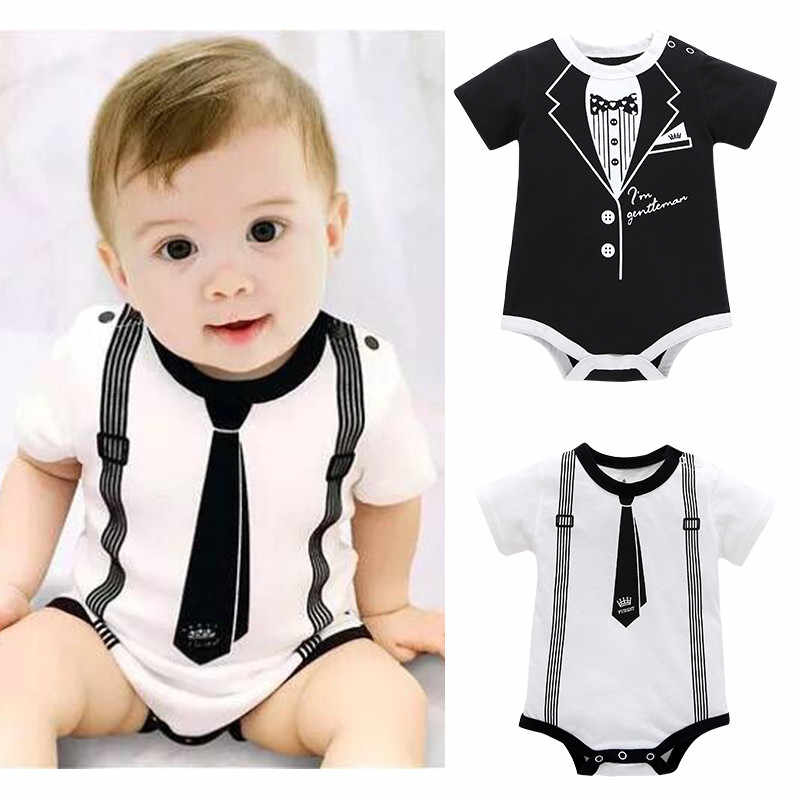 Spring autumn baby boy girls Toddler Infant Kids Baby Girl Boy Print Clothes Casual Romper Playsuit Jumpsuit 30