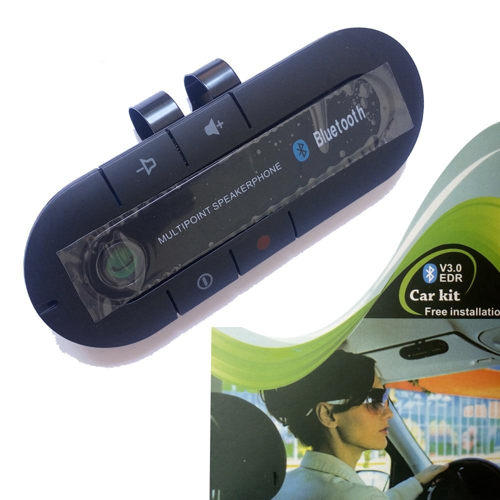 auto connect free installation car kit handsfree multipoint speakerphone in car kit sun visor. Black Bedroom Furniture Sets. Home Design Ideas
