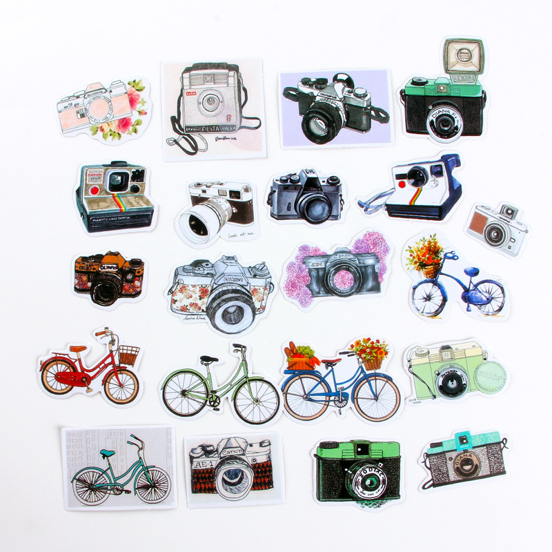 mooie Stickers kawaii cartoon sticker PVC Plakboek handboek dagboek - Klassiek speelgoed - Foto 6