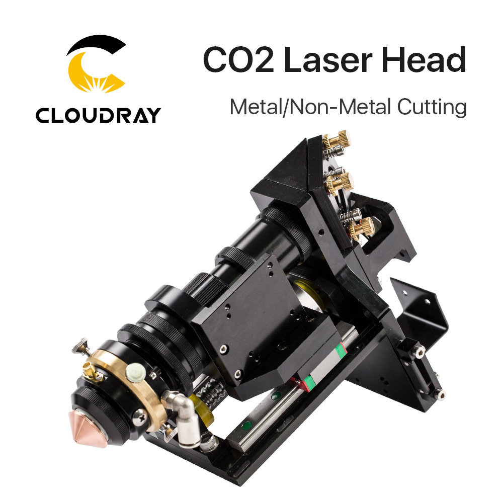 Cloudray 150-500W CO2 Laser Cutting Head Metal Non-Metal Hybrid Auto Focus цены