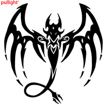 16*16CM Cool Car Styling Stickers Dragon Fantasy Mystical Creature Car Body  Decals Personality Motorcycle