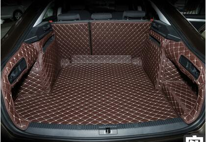 detailed look 78a31 a9a36 Special trunk mats for Skoda Superb 2018-2015 waterproof cargo liner boot  carpets for Superb 2016,Free shipping