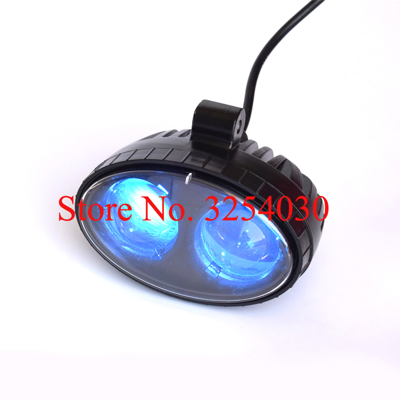 Straightforward Supply Domestic Led Black 10v To 80v 10w Thinner Electric Forklift Safety Light For Warning Xrl 1081 With Blue Light Perfect In Workmanship Electric Vehicle Parts Atv,rv,boat & Other Vehicle