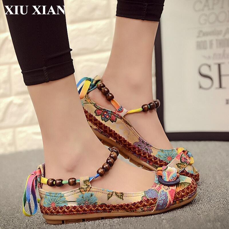 Вышивка обуви из бисера