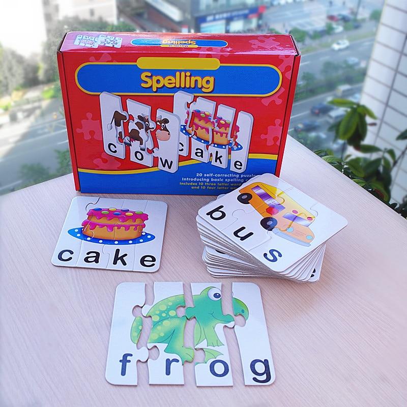 Rompecabezas Match-It para niños Educación temprana Juego de mesa - Juegos y rompecabezas