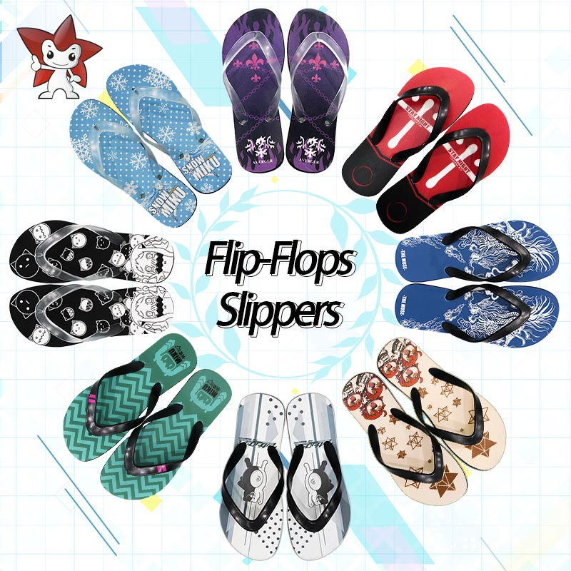 Flip Flops Shoes Have An Inquiring Mind Milky Way Anime Summer Miku Fate Tohsaka Rin Slippers Doma Umaru Kirigaya Kazuto Flip Flops Kantai Collection Beach Flip-flop Pure Whiteness