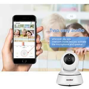Image 3 - SECTEC 720P Cloud Storage IP Camera  Wireless WIFI cam Home Security Surveillance CCTV Network Camera Night Vision Baby Monitor