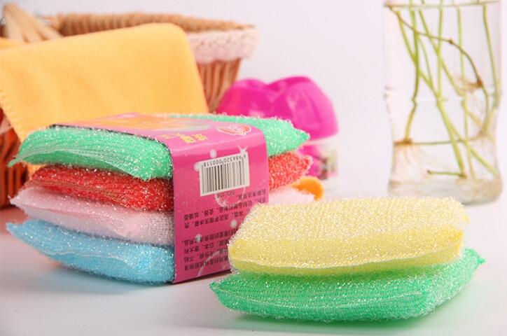 4 Pcs More Colors Multi Functional Magic Sponge Eraser