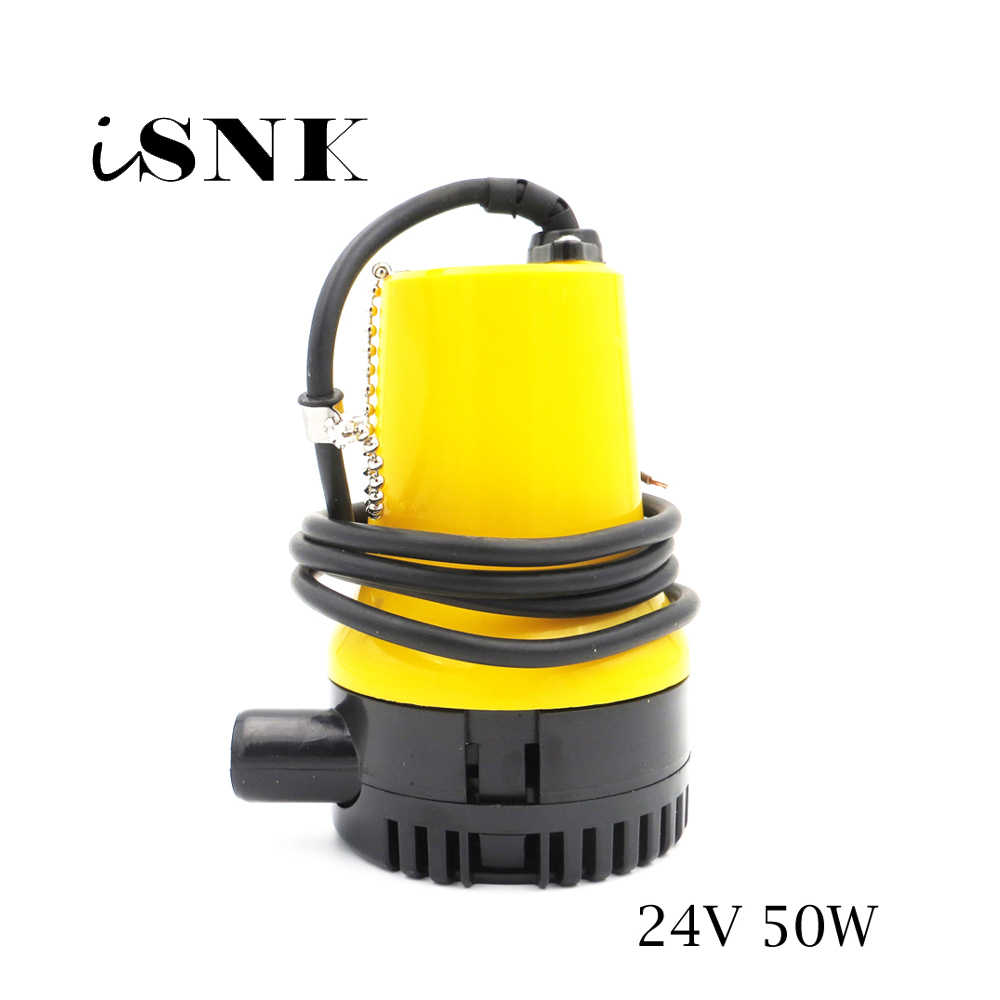 BL2524N 24V 50W DC Bilge Pump Electric Pump for Boats Accessories marin,submersible boat water pump solar panel submersible