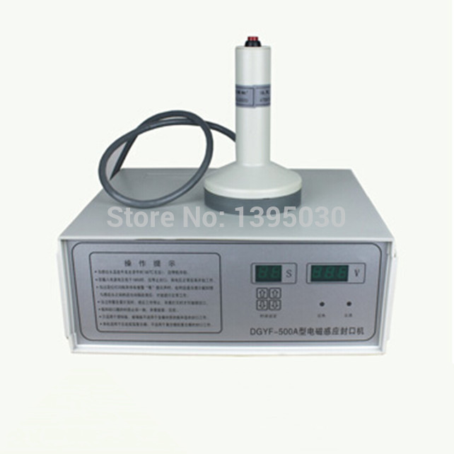 1pc Portable Magnetic Induction Bottle Sealing Machine Aluminum Foil Cap Sealer 20-100mm DGYF-S500A  цены
